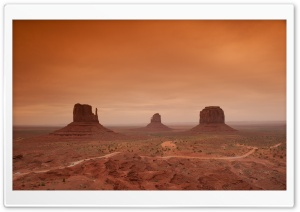 Monument Valley HD Wide Wallpaper for Widescreen