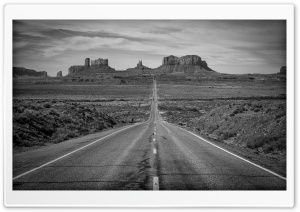 Monument Valley, Highway 163, Utah HD Wide Wallpaper for Widescreen