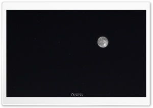 Moon and Ursa Major HD Wide Wallpaper for Widescreen