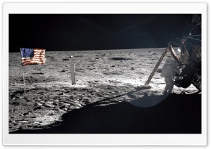 Moon Landing HD Wide Wallpaper for Widescreen