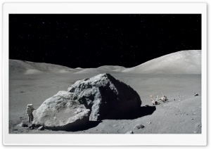 Moon Mission HD Wide Wallpaper for Widescreen