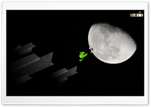 MoonBug HD Wide Wallpaper for Widescreen