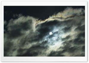 Moonlight Sky HD Wide Wallpaper for Widescreen
