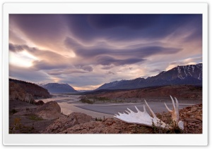 Moose Antler Alsek River Yukon Canada HD Wide Wallpaper for Widescreen