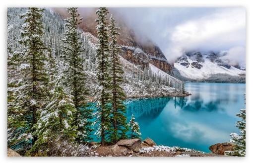 Download Moraine Lake, Banff National Park, Canada UltraHD Wallpaper