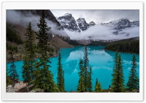 Moraine Lake, Canadian Rockies HD Wide Wallpaper for 4K UHD Widescreen desktop & smartphone