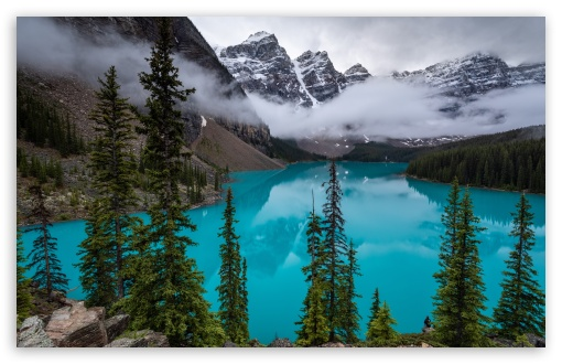 moraine lake canadian rockies wallpapers