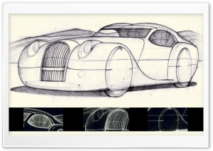 Morgan Life 2008 Sketch HD Wide Wallpaper for 4K UHD Widescreen desktop & smartphone