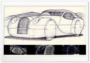 Morgan Life 2008 Sketch HD Wide Wallpaper for 4K UHD Widescreen desktop & smartphone