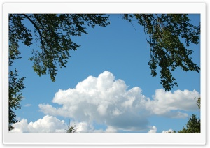 Moril-Cloudy Sky HD Wide Wallpaper for Widescreen