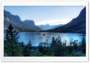 Morning At Glacier National Park