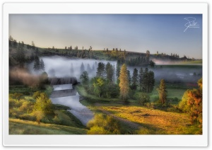 Morning at Palouse River HD Wide Wallpaper for 4K UHD Widescreen desktop & smartphone
