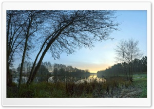Morning At The Lake HD Wide Wallpaper for Widescreen