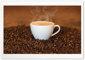 Morning Coffee HD Wide Wallpaper for Widescreen
