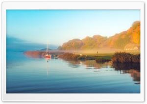 Morning Mist, Lake Ultra HD Wallpaper for 4K UHD Widescreen desktop, tablet & smartphone