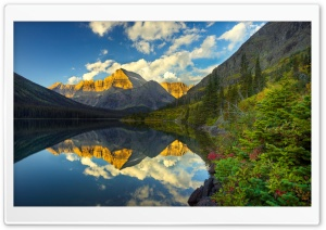 Morning Reflection HD Wide Wallpaper for Widescreen