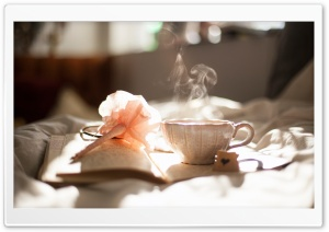 Morning Tea HD Wide Wallpaper for Widescreen