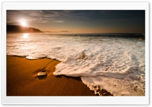 Morning Waves HD Wide Wallpaper for Widescreen