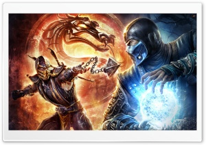 Mortal Kombat HD Wide Wallpaper for 4K UHD Widescreen desktop & smartphone