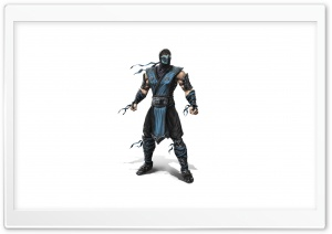 Mortal Kombat 2011 - Sub Zero HD Wide Wallpaper for 4K UHD Widescreen desktop & smartphone