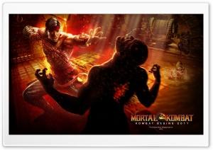 Mortal Kombat 9 Liu Kang HD Wide Wallpaper for 4K UHD Widescreen desktop & smartphone