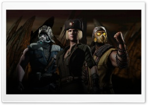 Mortal Kombat Kold War Fanmade Ultra HD Wallpaper for 4K UHD Widescreen desktop, tablet & smartphone