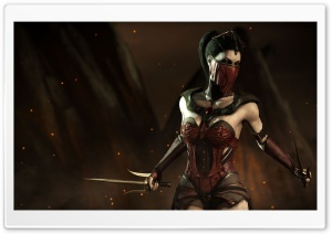 Mortal Kombat, Mileena HD Wide Wallpaper for Widescreen