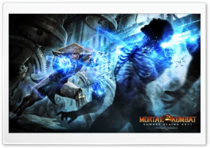 Mortal Kombat Raiden HD Wide Wallpaper for Widescreen