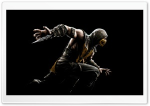 Mortal Kombat X 2015 HD Wide Wallpaper for 4K UHD Widescreen desktop & smartphone