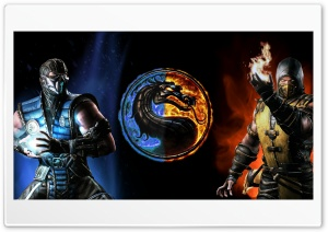 Mortal Kombat X Ultra HD Wallpaper for 4K UHD Widescreen desktop, tablet & smartphone
