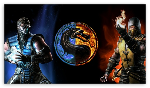 Mortal Kombat X Subzero Vs Scorpion Ultra Hd Desktop Background
