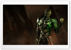 Mortal Kombat X Ermac HD Wide Wallpaper for Widescreen