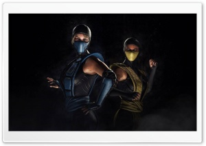 Mortal Kombat X Game HD Wide Wallpaper for Widescreen