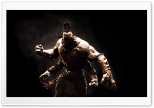 Mortal Kombat X Goro HD Wide Wallpaper for 4K UHD Widescreen desktop & smartphone
