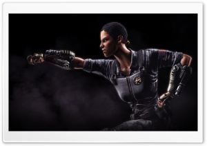 Mortal Kombat X Jacqui Briggs HD Wide Wallpaper for Widescreen
