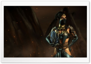 Mortal Kombat X Kitana HD Wide Wallpaper for Widescreen