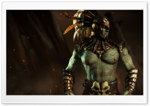 Mortal Kombat X Kotal Kahn HD Wide Wallpaper for 4K UHD Widescreen desktop & smartphone