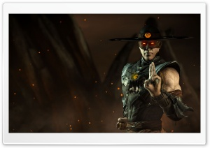 Mortal Kombat X Kung Lao HD Wide Wallpaper for 4K UHD Widescreen desktop & smartphone