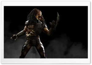 Mortal Kombat X Predator HD Wide Wallpaper for 4K UHD Widescreen desktop & smartphone