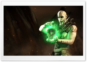 Mortal Kombat X Quan Chi HD Wide Wallpaper for 4K UHD Widescreen desktop & smartphone