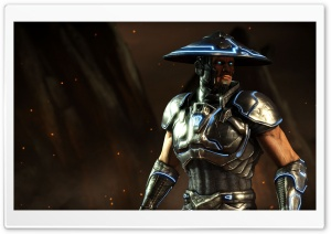 Mortal Kombat X Raiden HD Wide Wallpaper for 4K UHD Widescreen desktop & smartphone