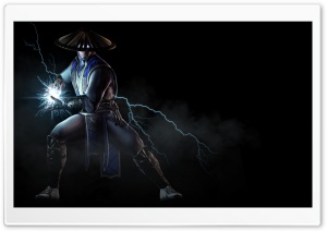 Mortal Kombat X Raiden, the God of Thunder and Lightning HD Wide Wallpaper for 4K UHD Widescreen desktop & smartphone