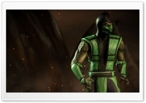 Mortal Kombat X Reptile HD Wide Wallpaper for 4K UHD Widescreen desktop & smartphone