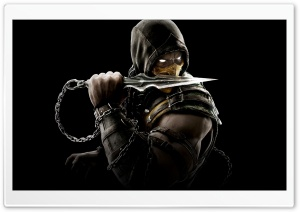 Mortal Kombat X Scorpion HD Wide Wallpaper for Widescreen