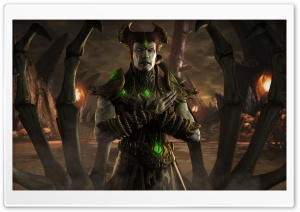 Mortal Kombat X Shinnok HD Wide Wallpaper for 4K UHD Widescreen desktop & smartphone