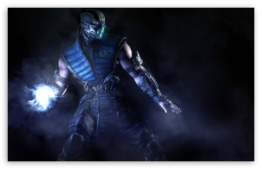 Mortal Kombat X Sub Zero 4K HD Desktop Wallpaper for 4K ...