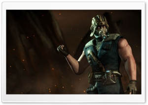 Mortal Kombat X, Sub-Zero HD Wide Wallpaper for Widescreen