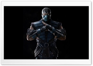 Mortal Kombat X Sub-Zero HD Wide Wallpaper for Widescreen