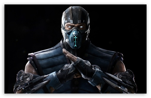 Mortal Kombat X Sub Zero 4k Ultra Hd Desktop Background Wallpaper