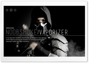 Mortal Kombat X Wallpaper Noob Smoke HD Wide Wallpaper for Widescreen